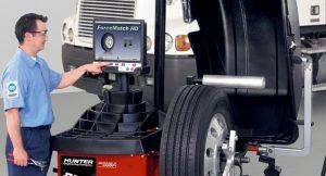 Hệ thống cân bằng động bánh xe dành cho xe tải / buýt