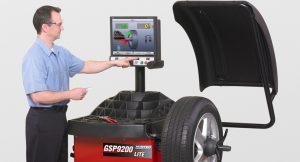 Hệ thống cân bằng động bánh xe dành cho xe con