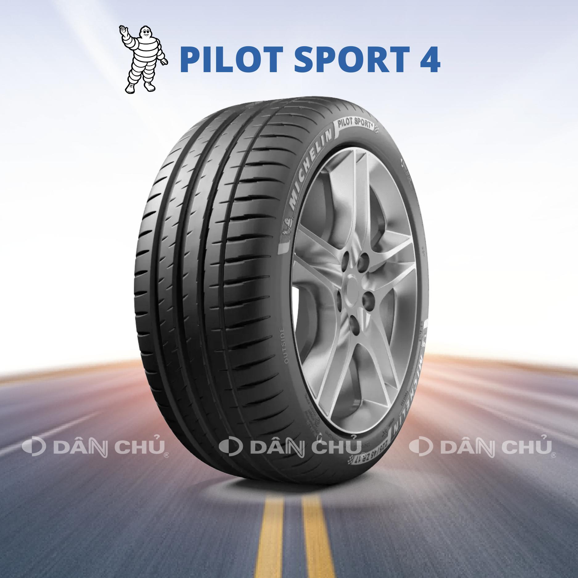 Lốp Michelin Pilot Sport 4 (Dòng thể thao, hiệu suất)
