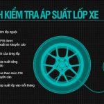 Cách kiểm tra áp suất lốp xe